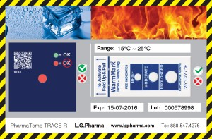 Product Exposed to Temperature Below Threshold